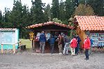 Teestand am Besucherzentrum des Nationalparks Cotopaxi<br />&copy; U.Rieckert