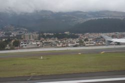 Landung in Quito