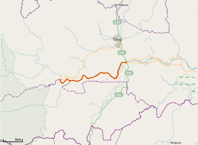Rafting-Route